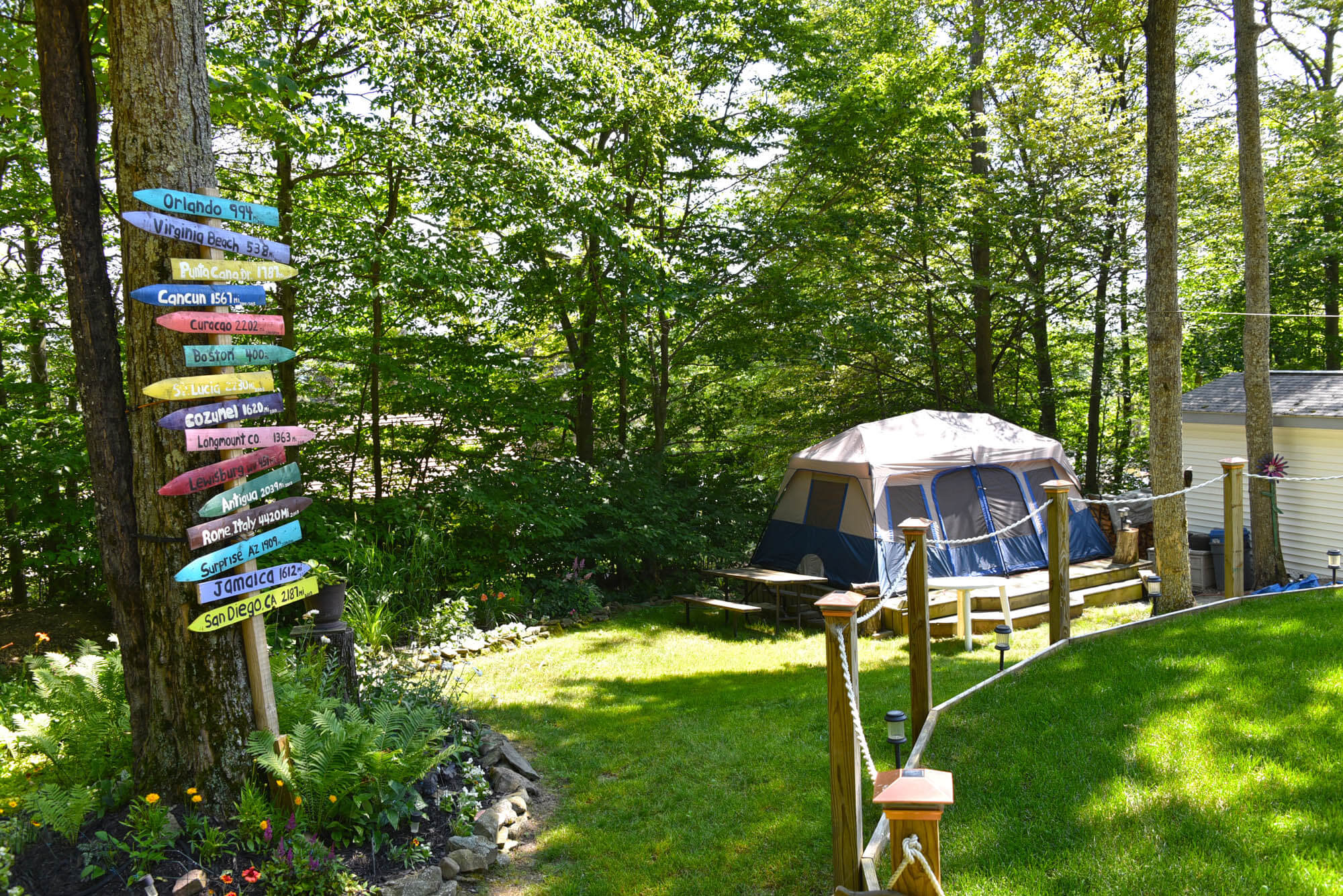 accommodations for every camping preference | allegany mountain resort