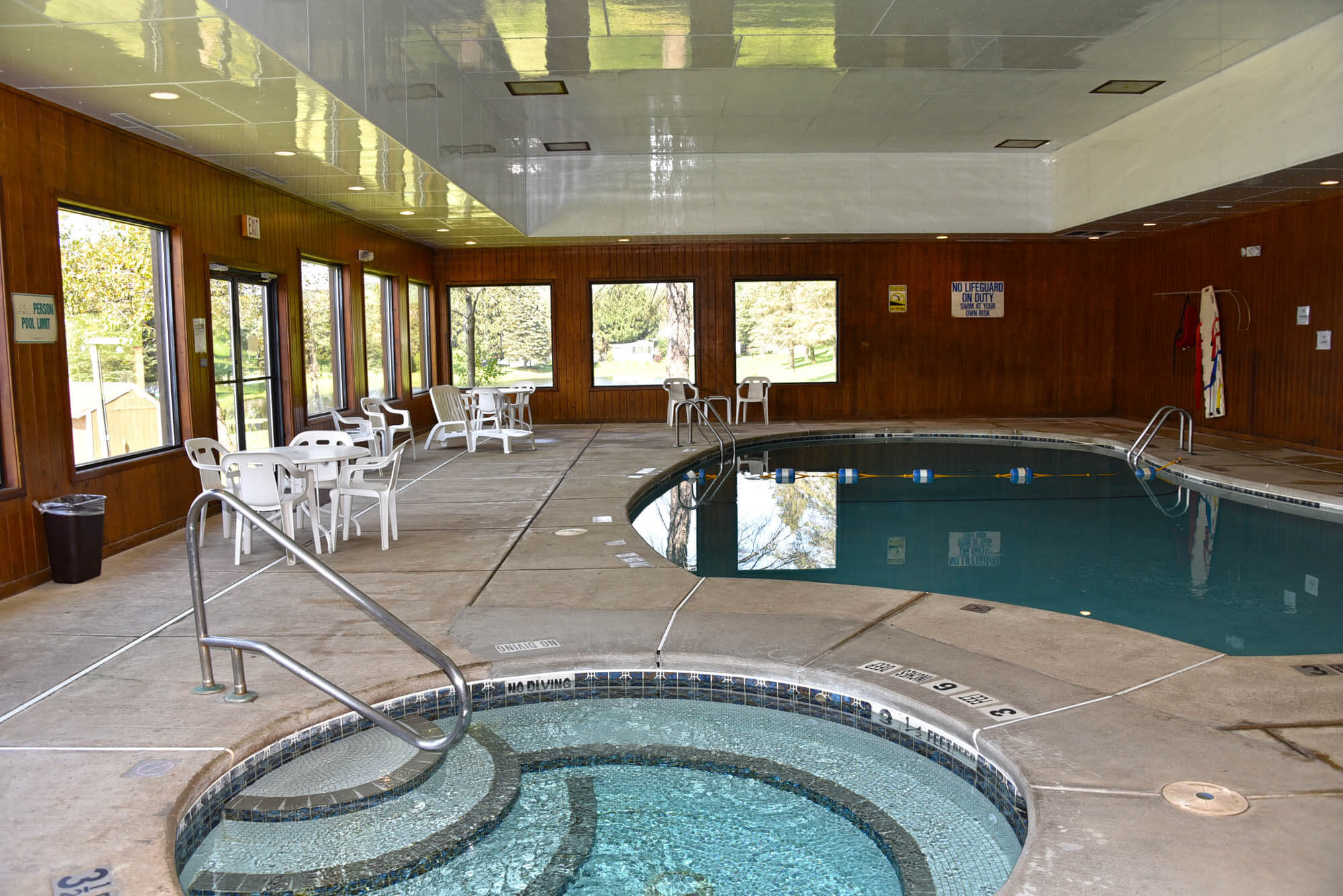 Outdoor & Indoor Swimming Pools Conveniently Located On Our ...